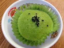小松菜カップケーキ